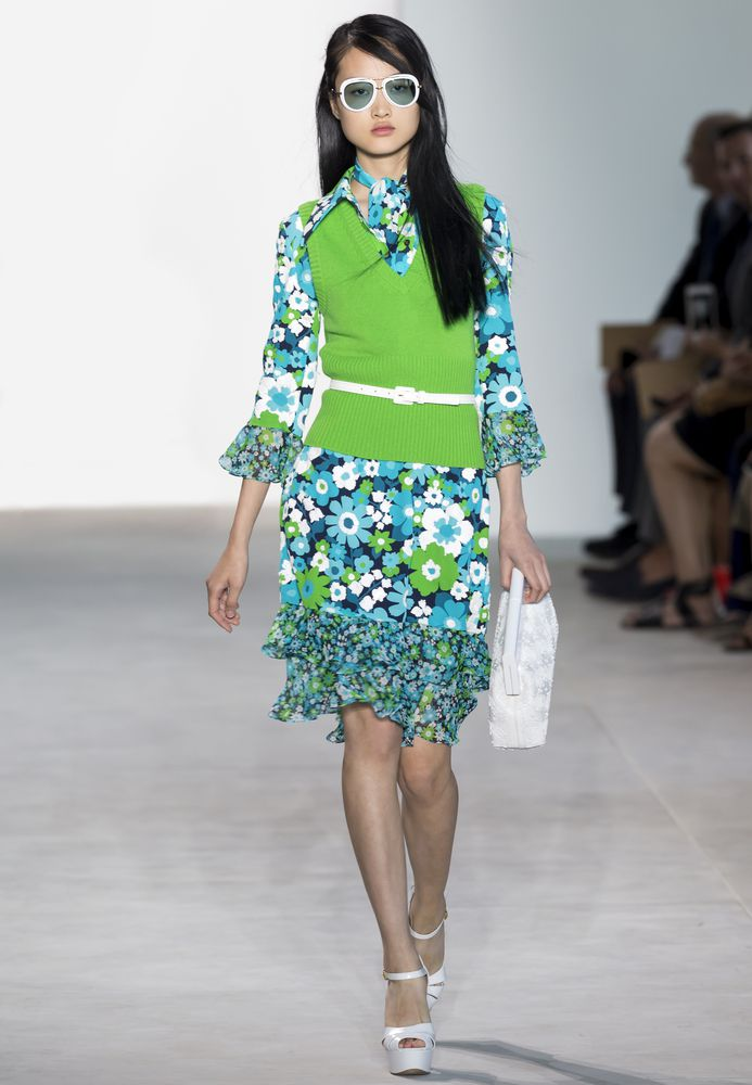 Mode News: Trendfarben für Frühling/Sommer 2017 - Greenery - Michael Kors Fashion Week New York